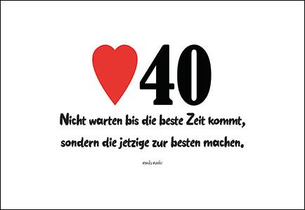 Geburtstagsgedichte Zum 40 Geburtstag Kurze Sprüche Und